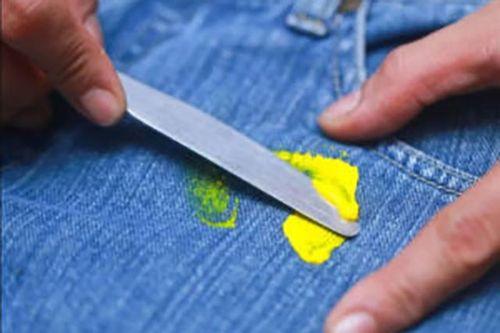 Лизун на джинсах