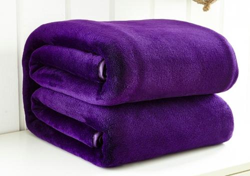 Сиреневые полотенца из флиса