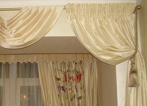 Шёлковые шторы