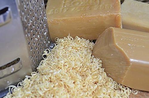 Мыльная стружка из хозяйственного мыла